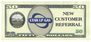 Utah LP Gas 50 Dollar Referral Coupon 2